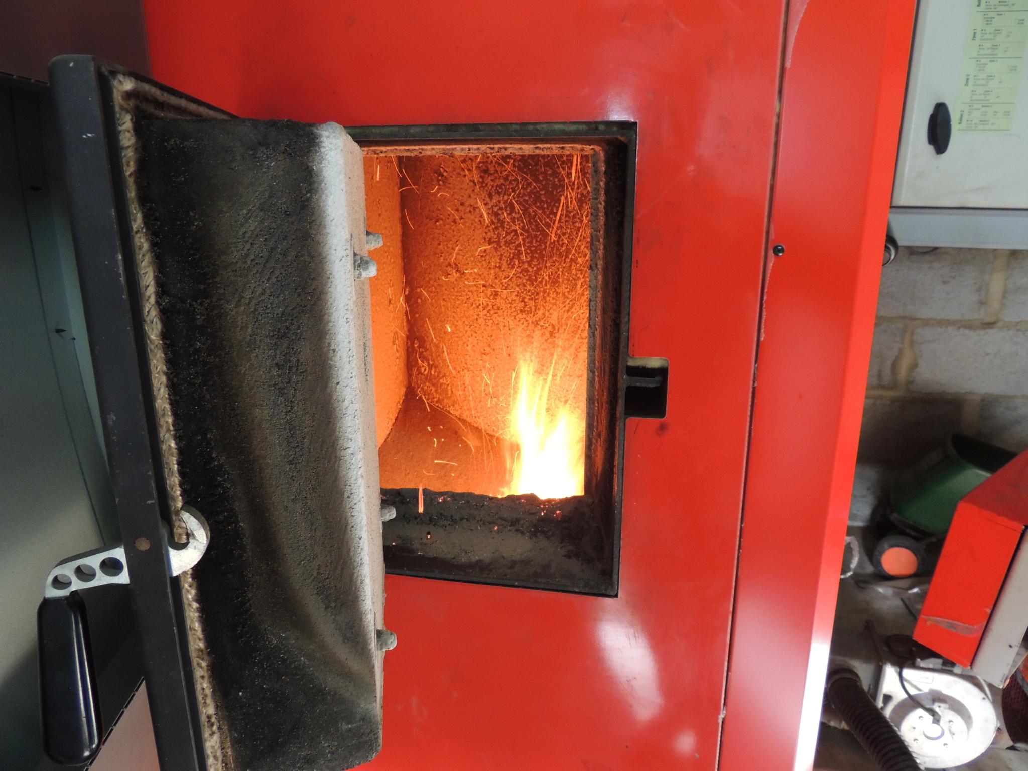 Entretien d'une chaudière bois Hargassner de 110kW